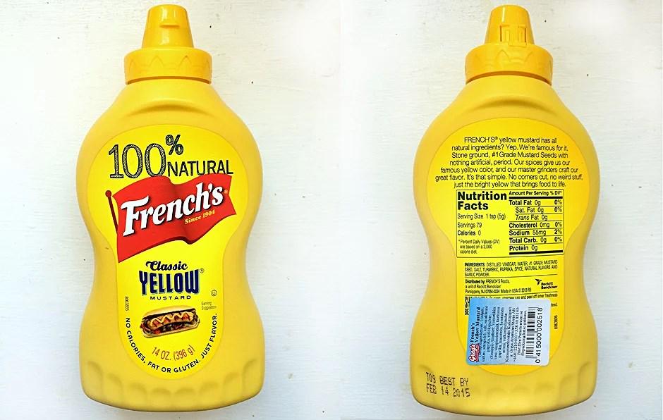 senap utan socker