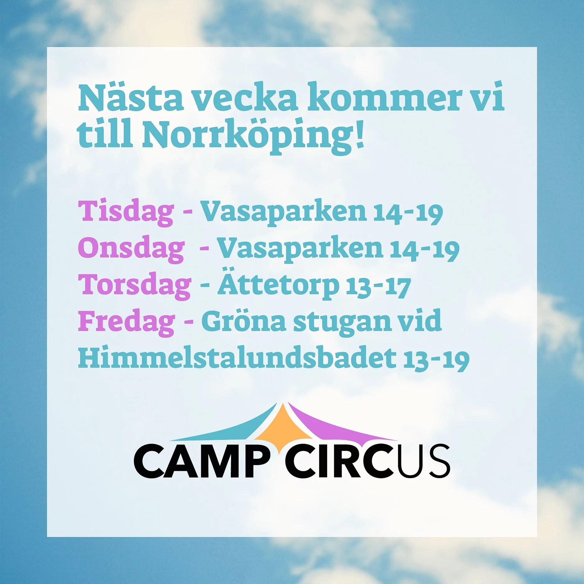 Cirkusskola i Norrköping!