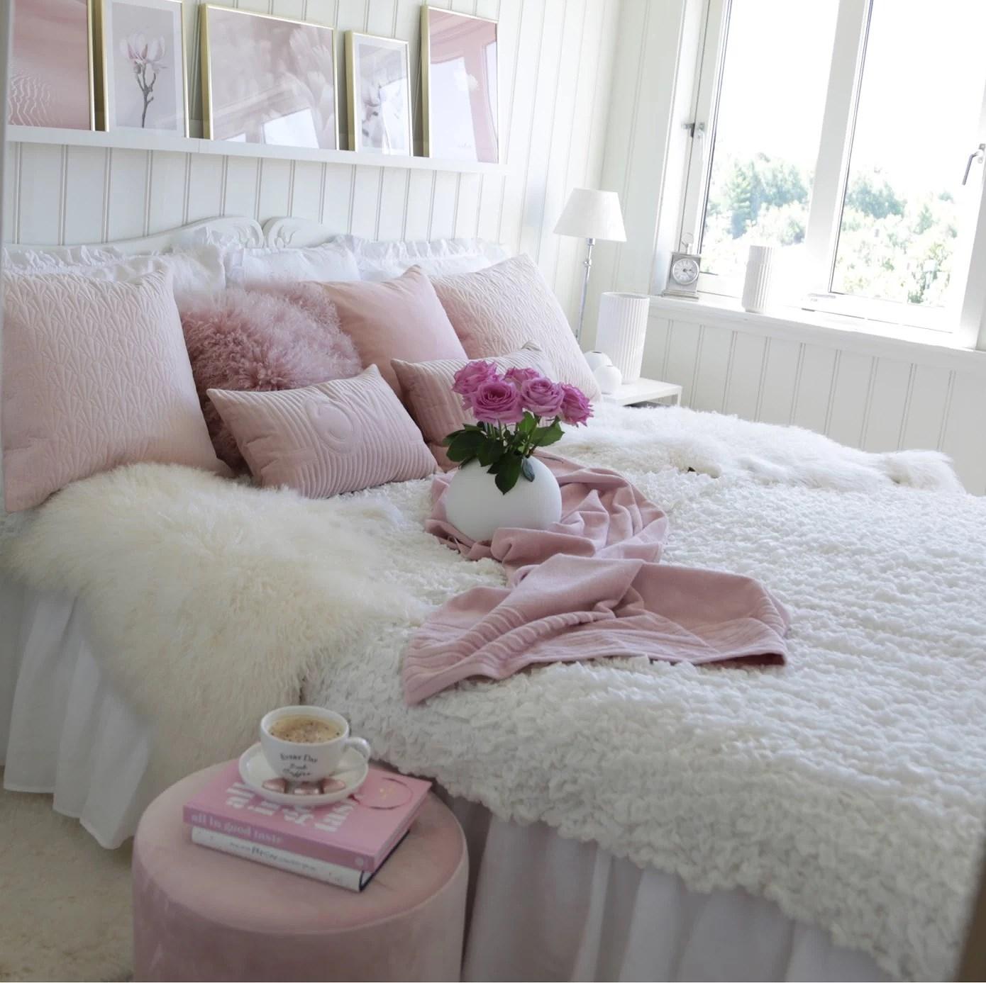 Nye bilder på soverommet