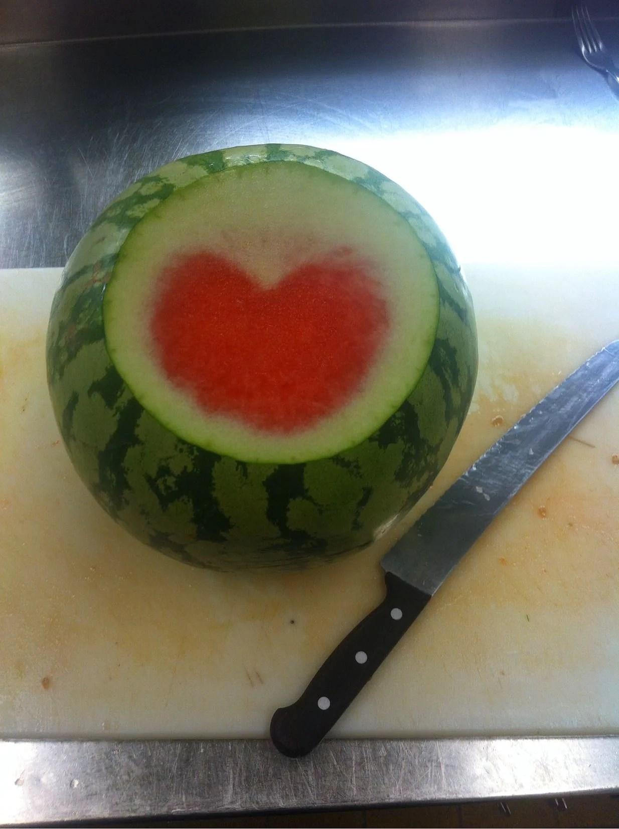 Hjärt-melon