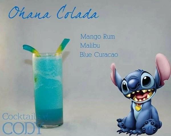 Disneyinspirerade drinkrecept från Stitch