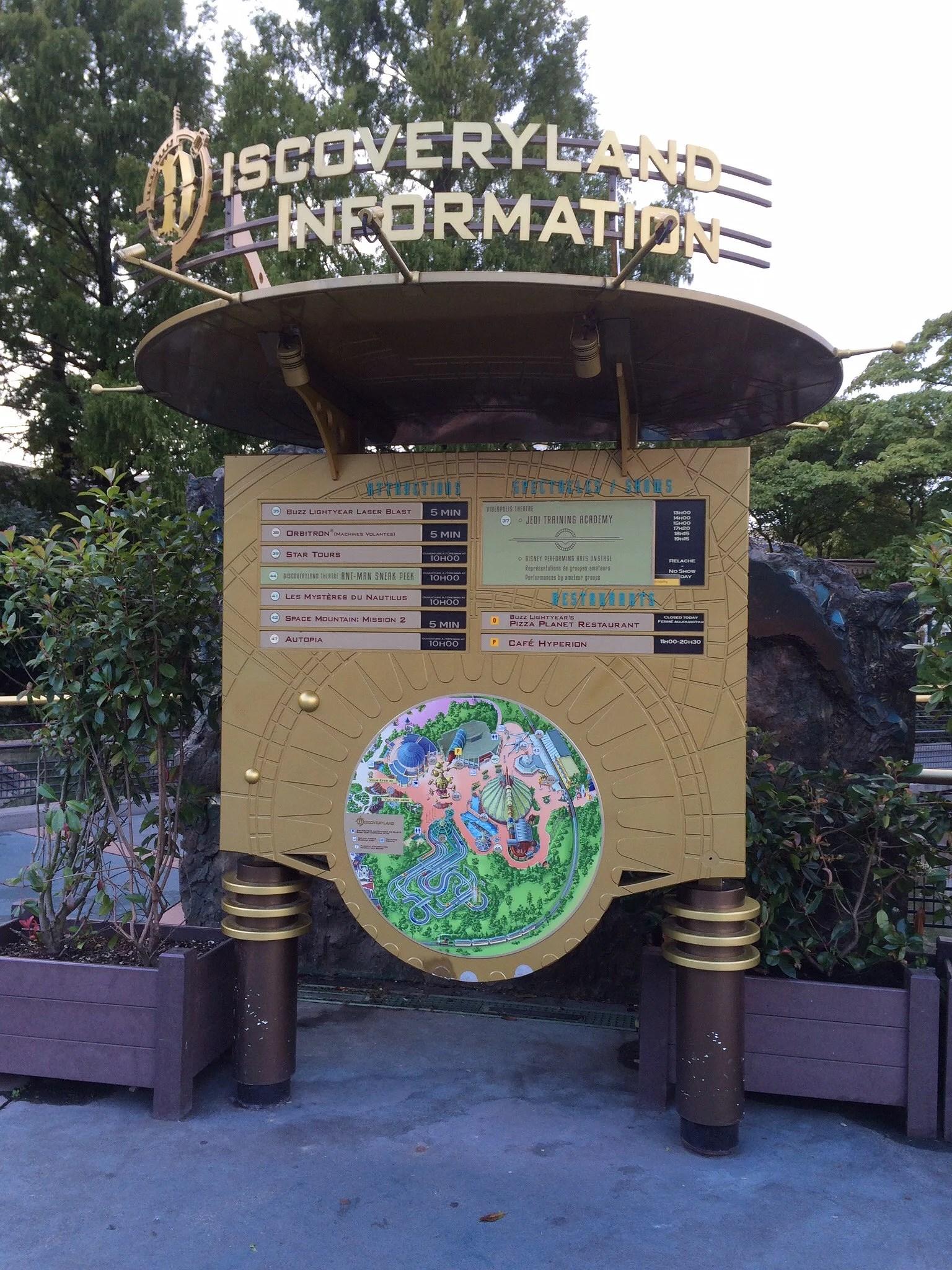 Baby Care Centers på Disneyland Paris
