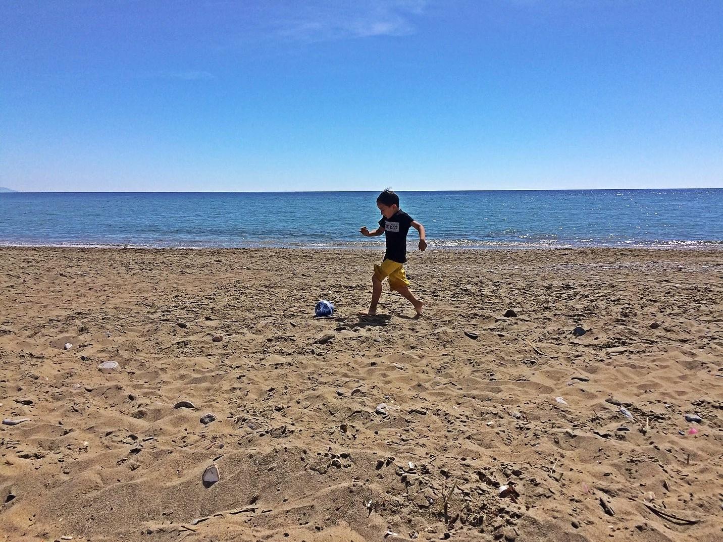 Thursday at the beach