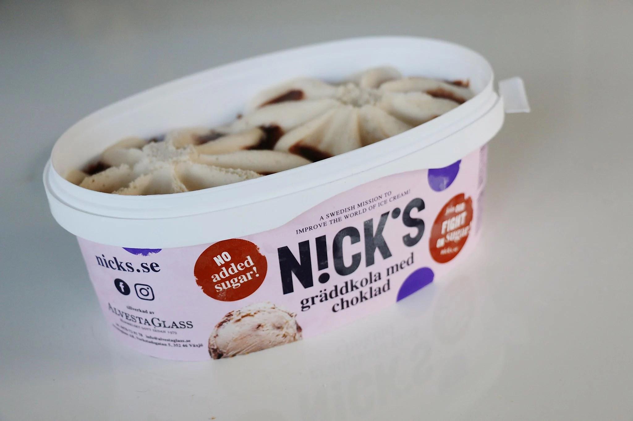 n!cks glass utan tillsatt socker