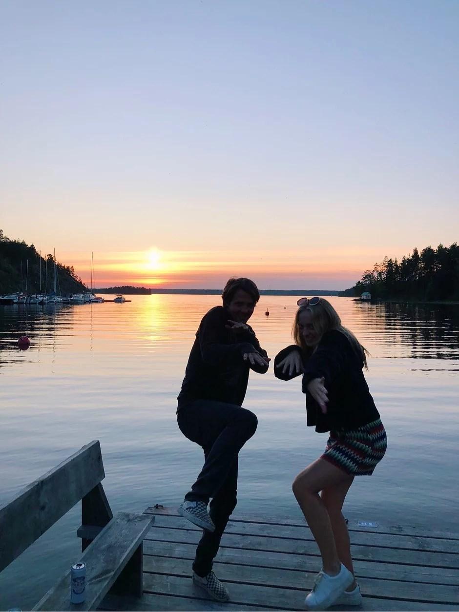 Nacka-sunset