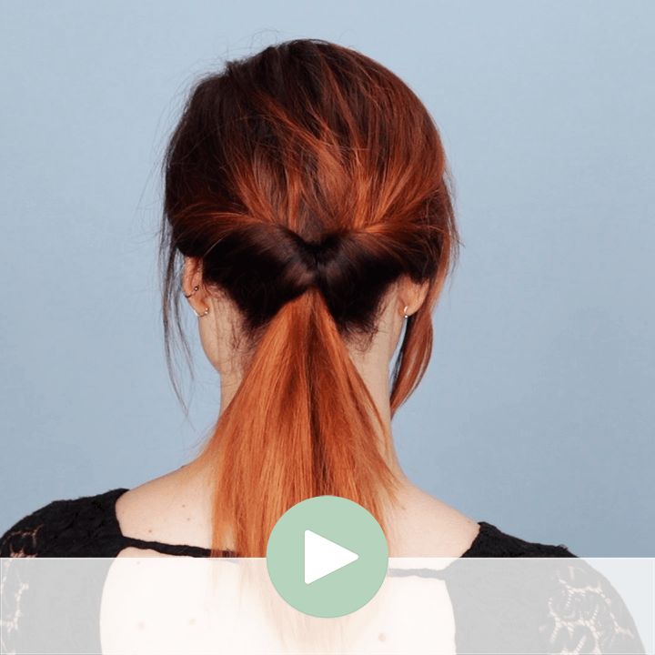 Cute Topsy Tail Ponytail