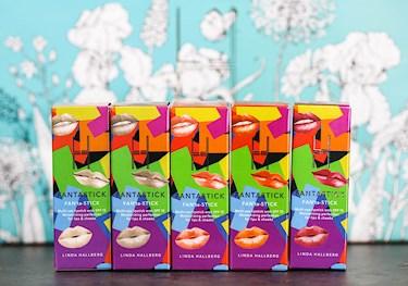 linda hallberg fantastick lipstick