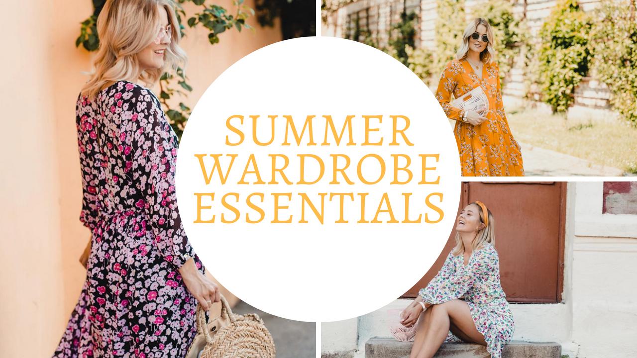 Video: Summer wardrobe essentials