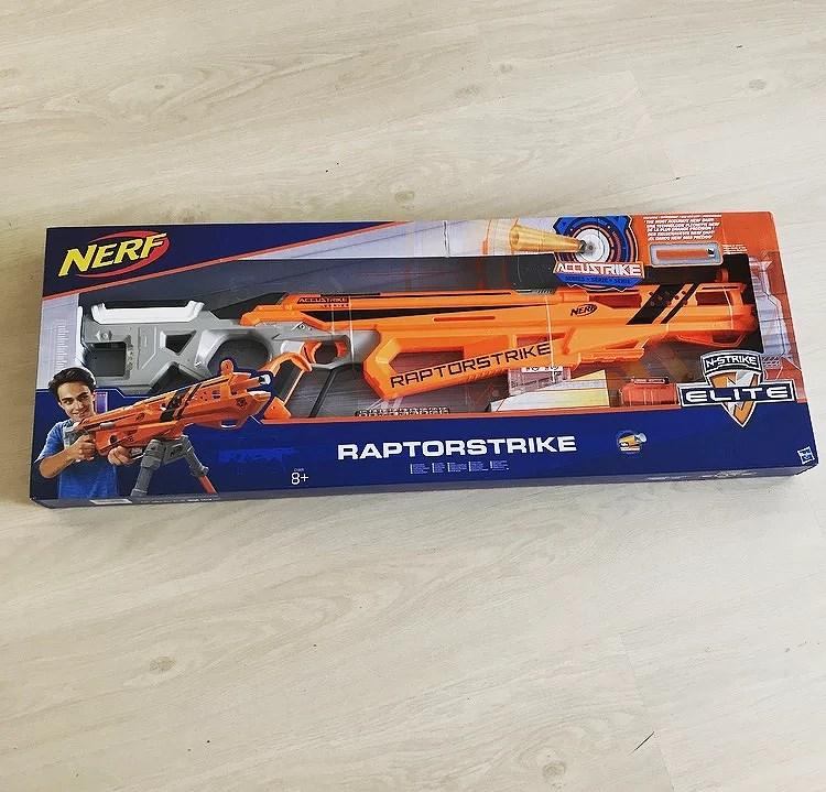 Nerf raptorstrike sinterklaas tip!