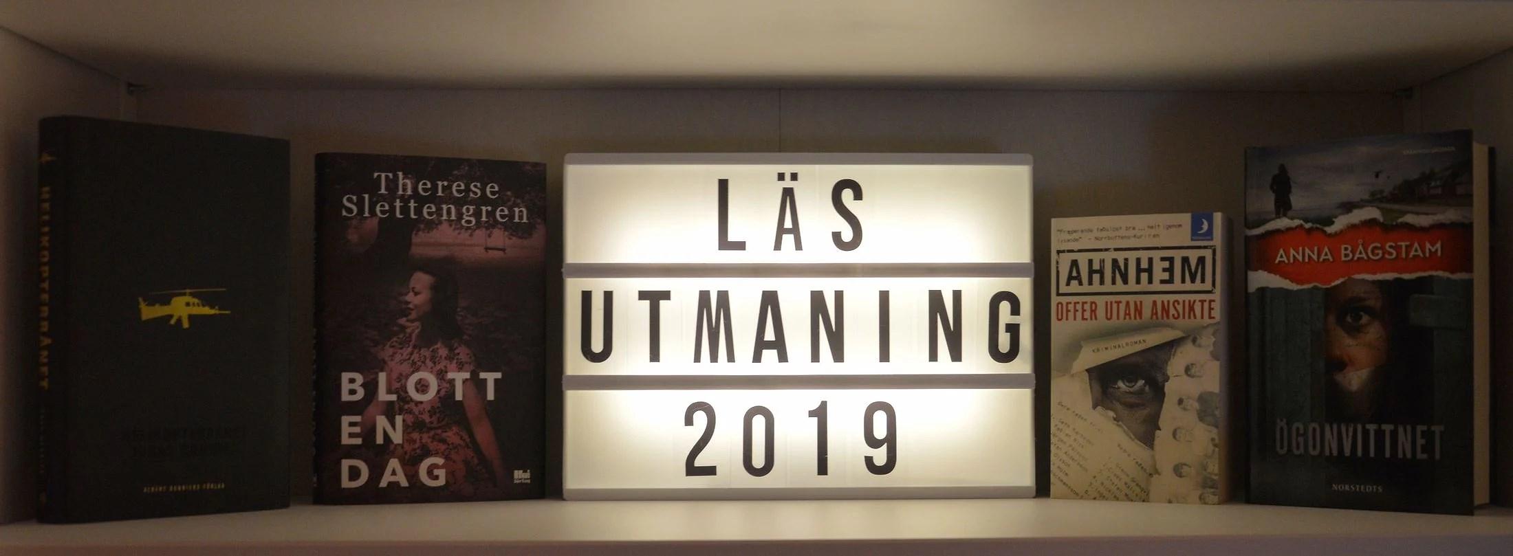 Läsutmaning 2019 - Uppdatering