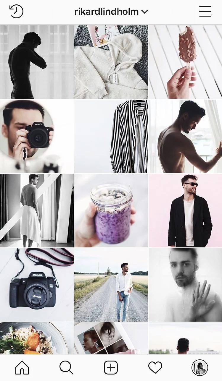 Min Instagram har fått nytt utseende