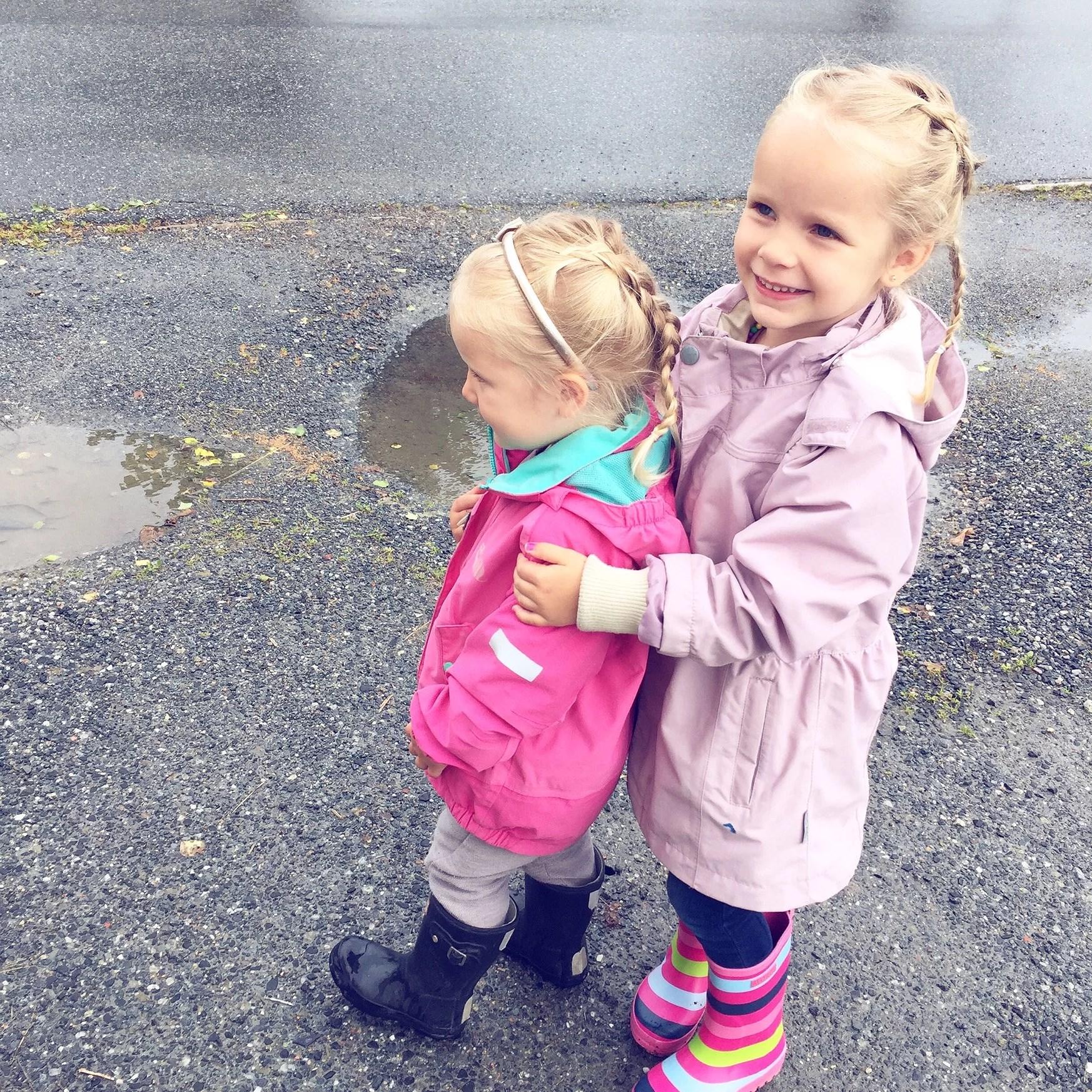De første dagene i barnehage !