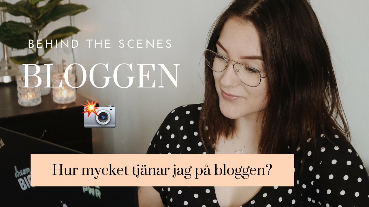 Hur mycket tjänar jag på bloggen? ★ Äntligen video ute!