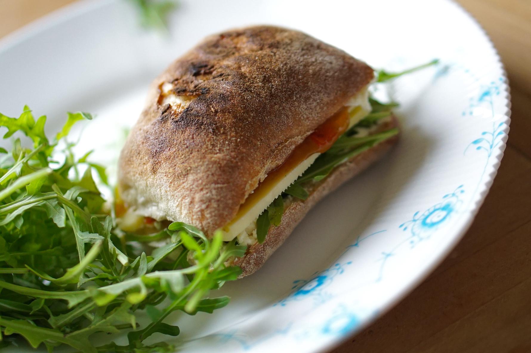 Salty & Sweet Cheese Sandwich