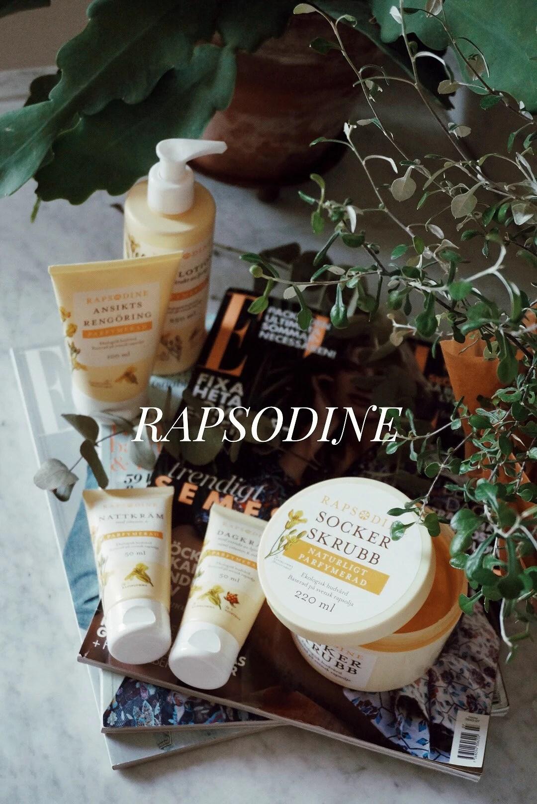 Rapsodine - svensk ekologisk hudvård