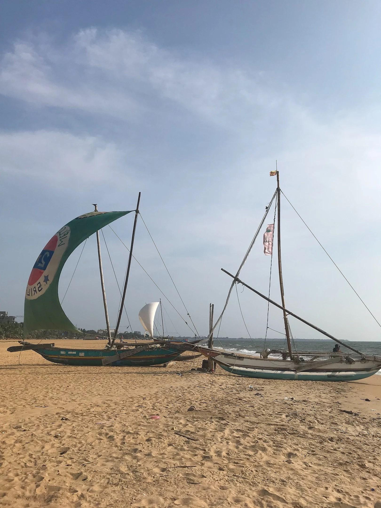 Sun and Negombo beach