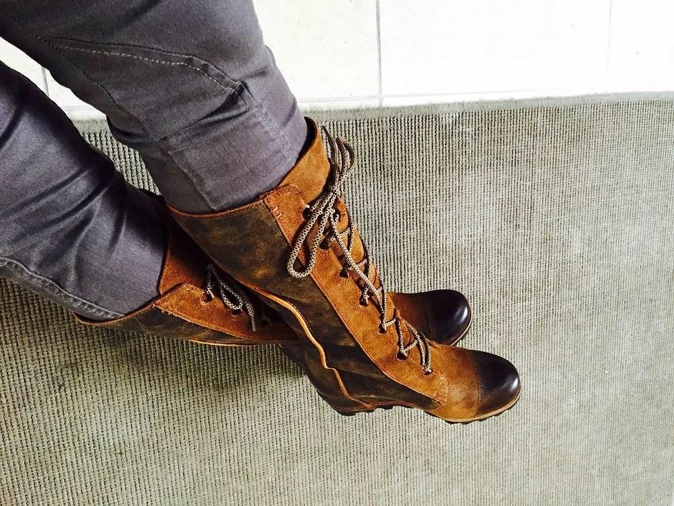 Dejlige Sorel støvler, perfekte til efteråret.