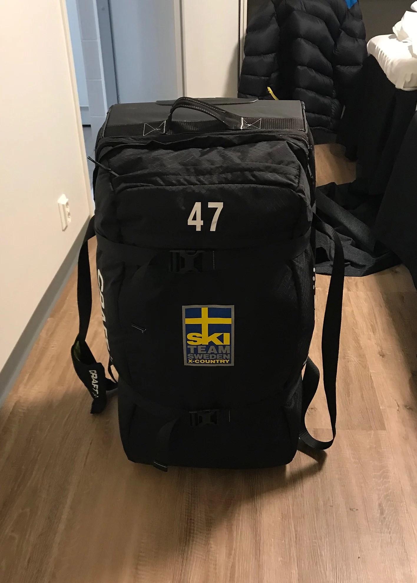 Race imorgon och väskorna har kommit!