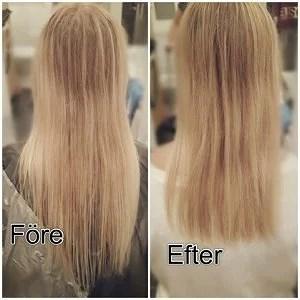 tunna ut håret