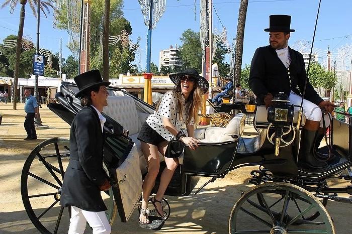 Feria del Caballo destacada por su elegancia y libertad de entrada en sus casetas