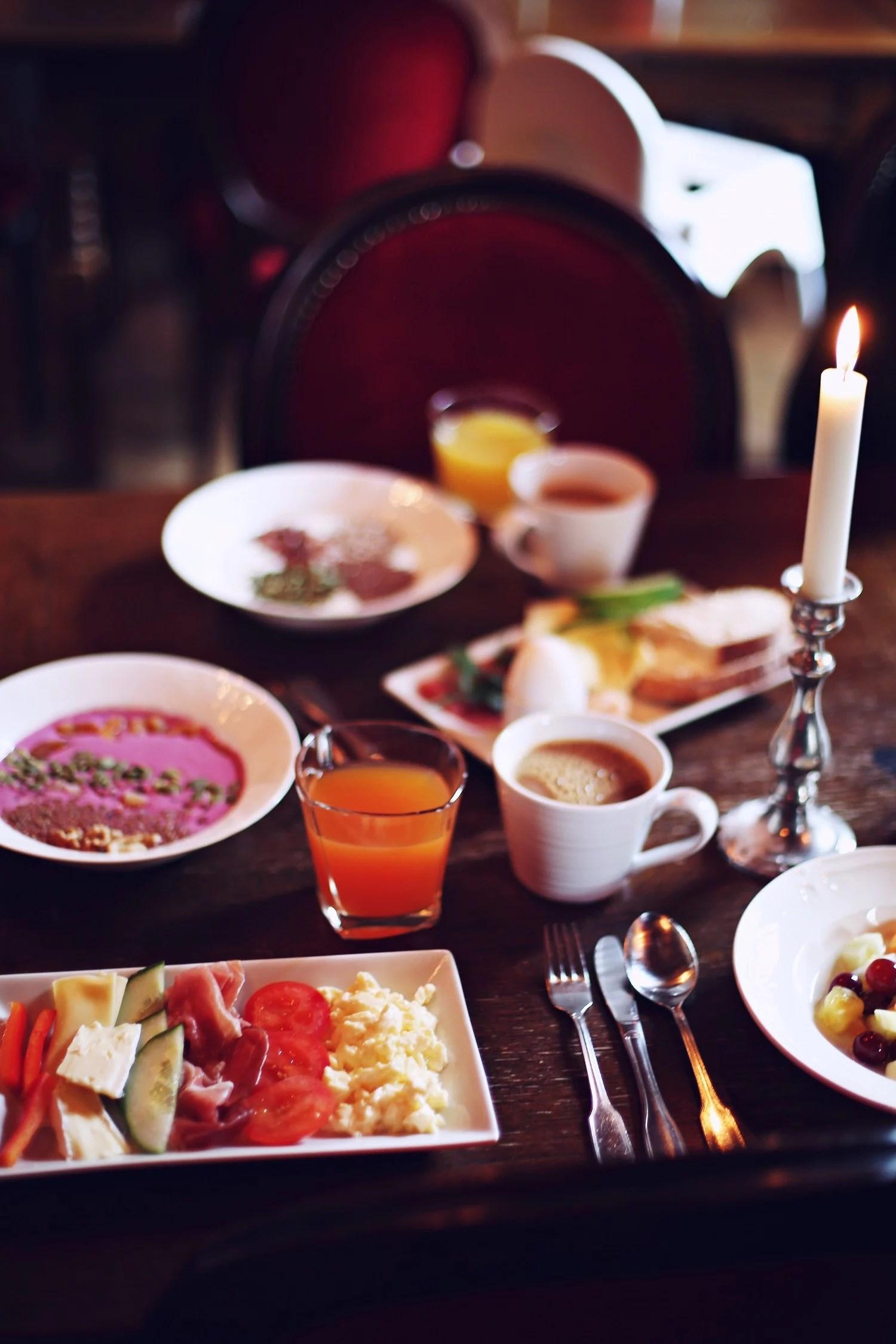 Castle breakfast
