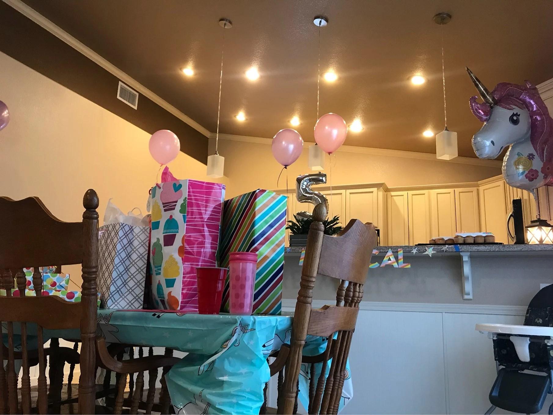 Dag 33 - Happy 5th Birthday