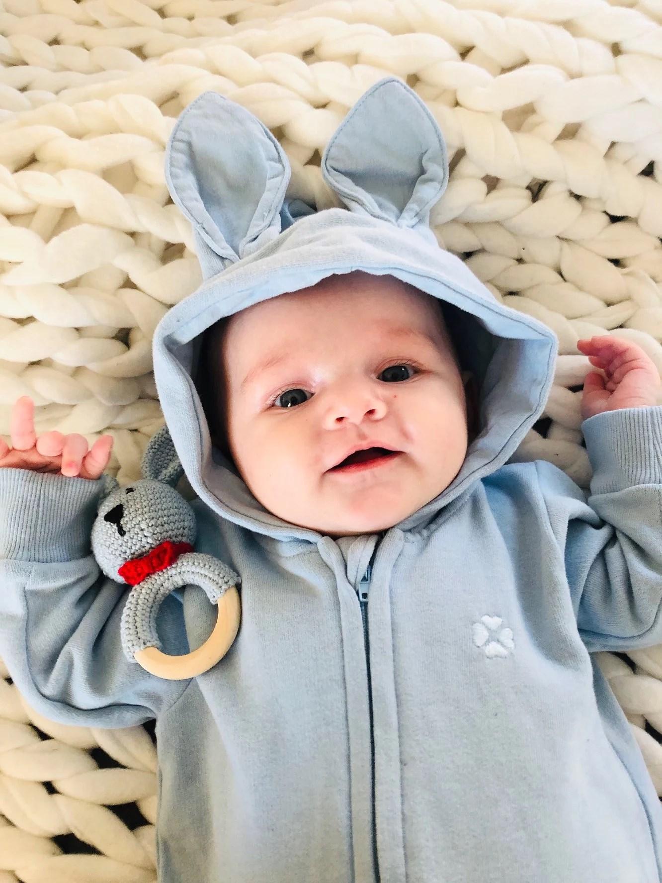 Min lilla blåa kanin 😍