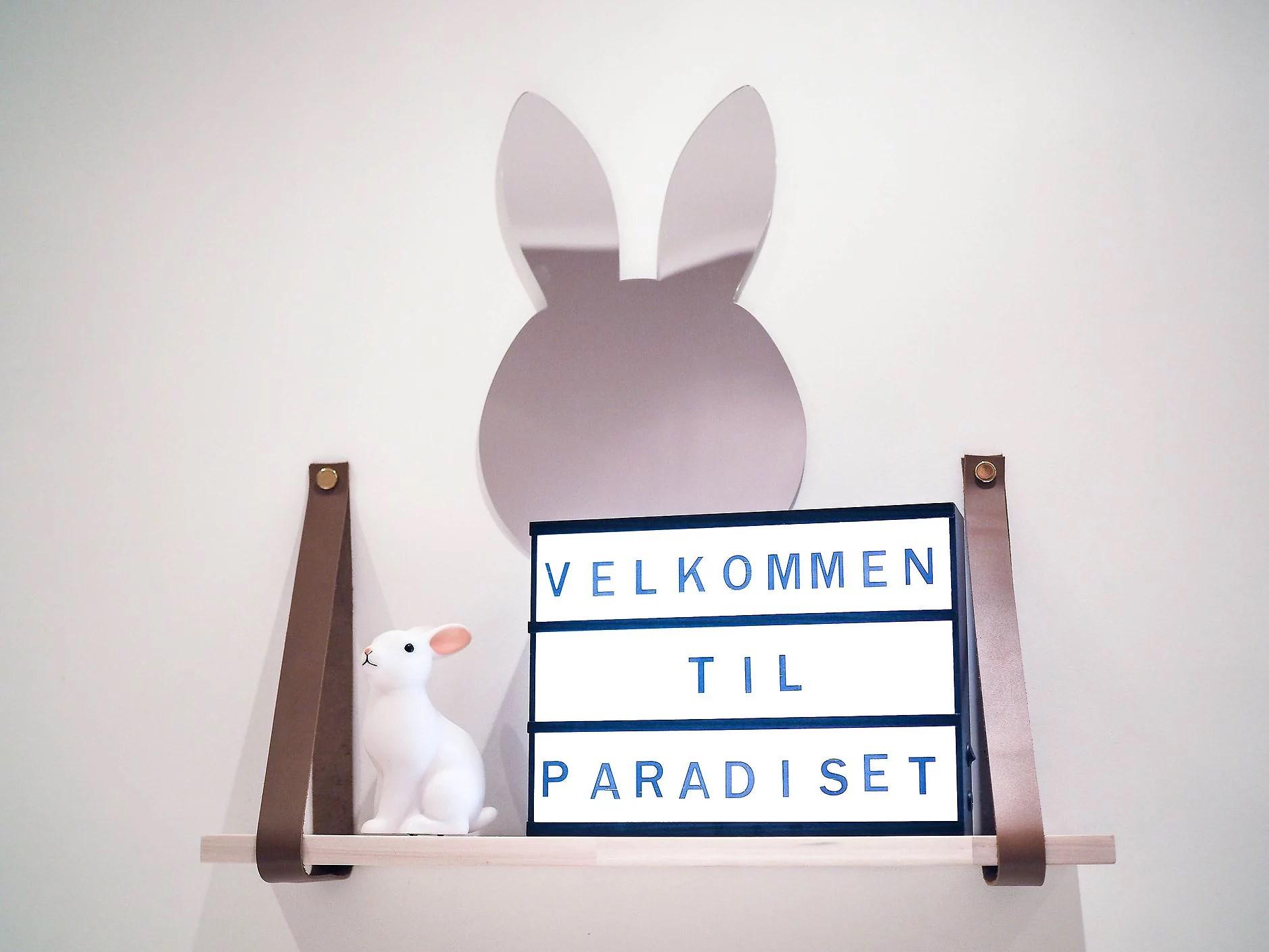 Et minimalistisk barnerom på gang!