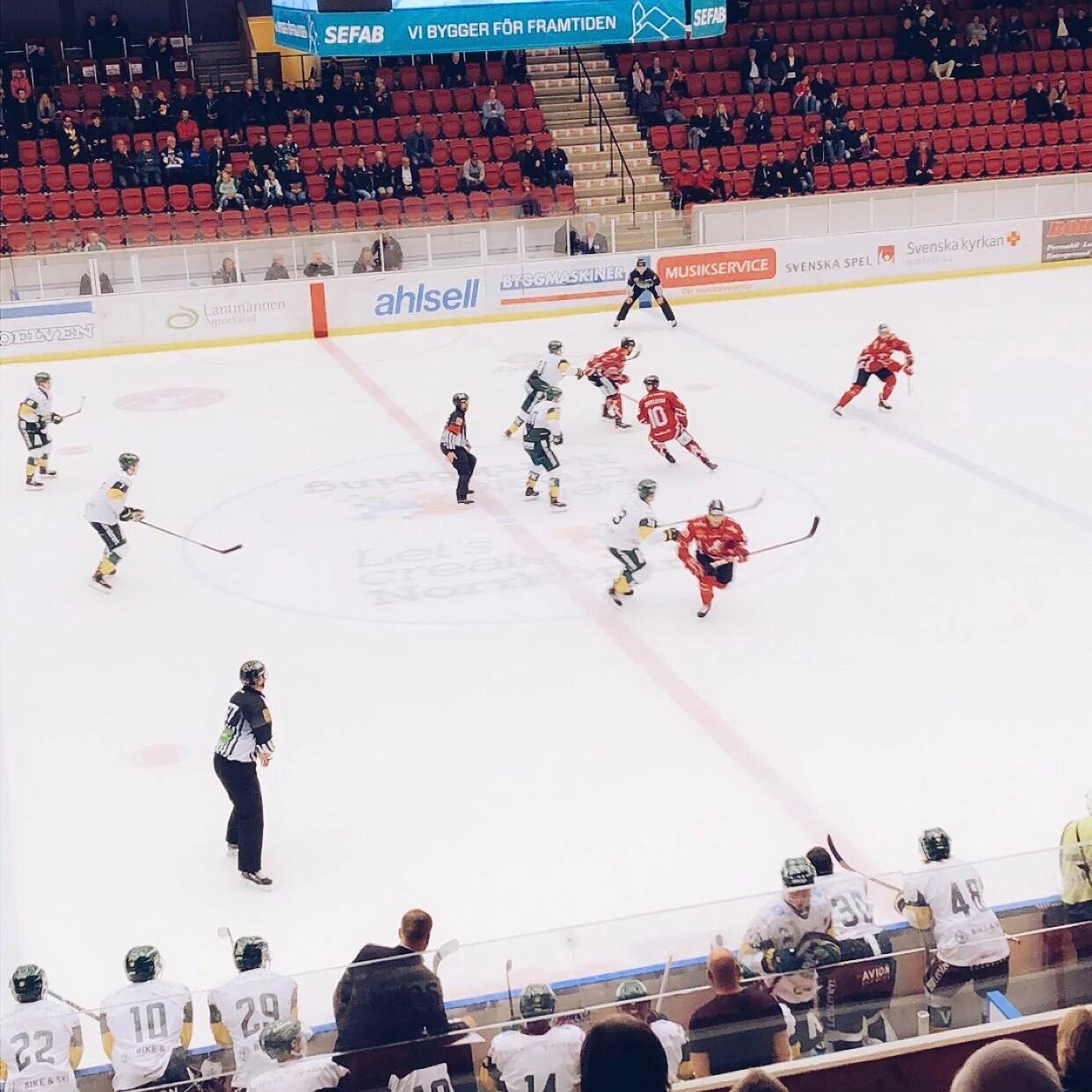 Äntligen hockeysäsong
