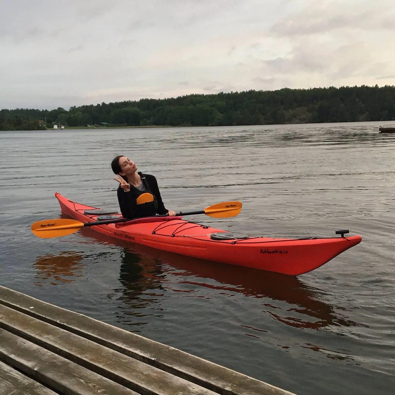 paddling + midsommarfestplanerande
