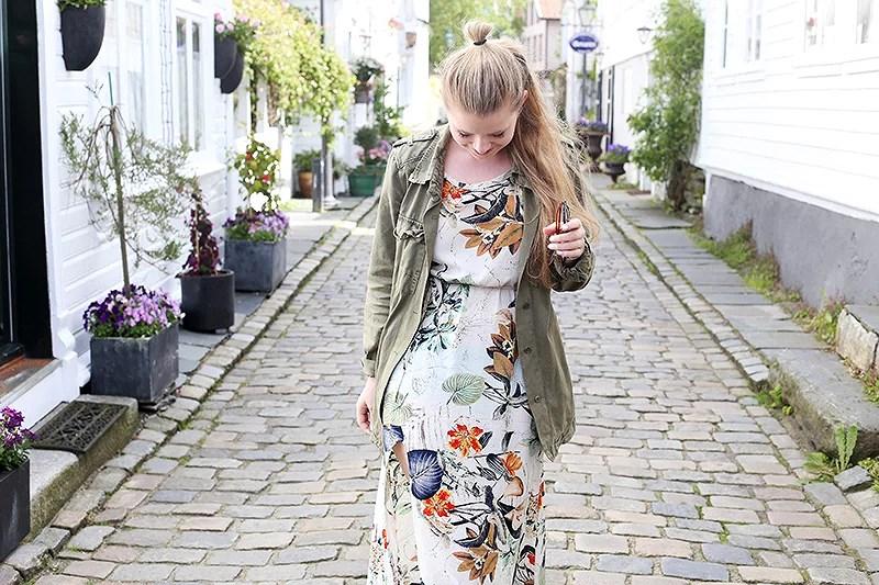 krist.in style summer dress sheinside jacket zara