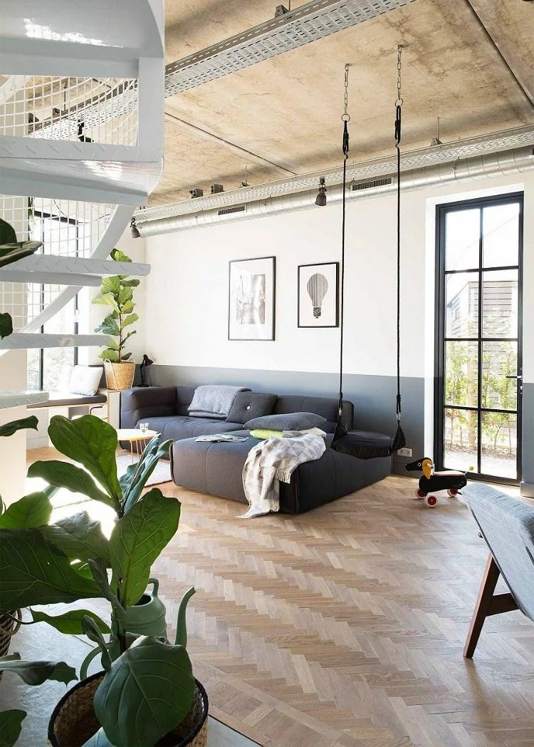 Deco: Una casa de estilo industrial especial