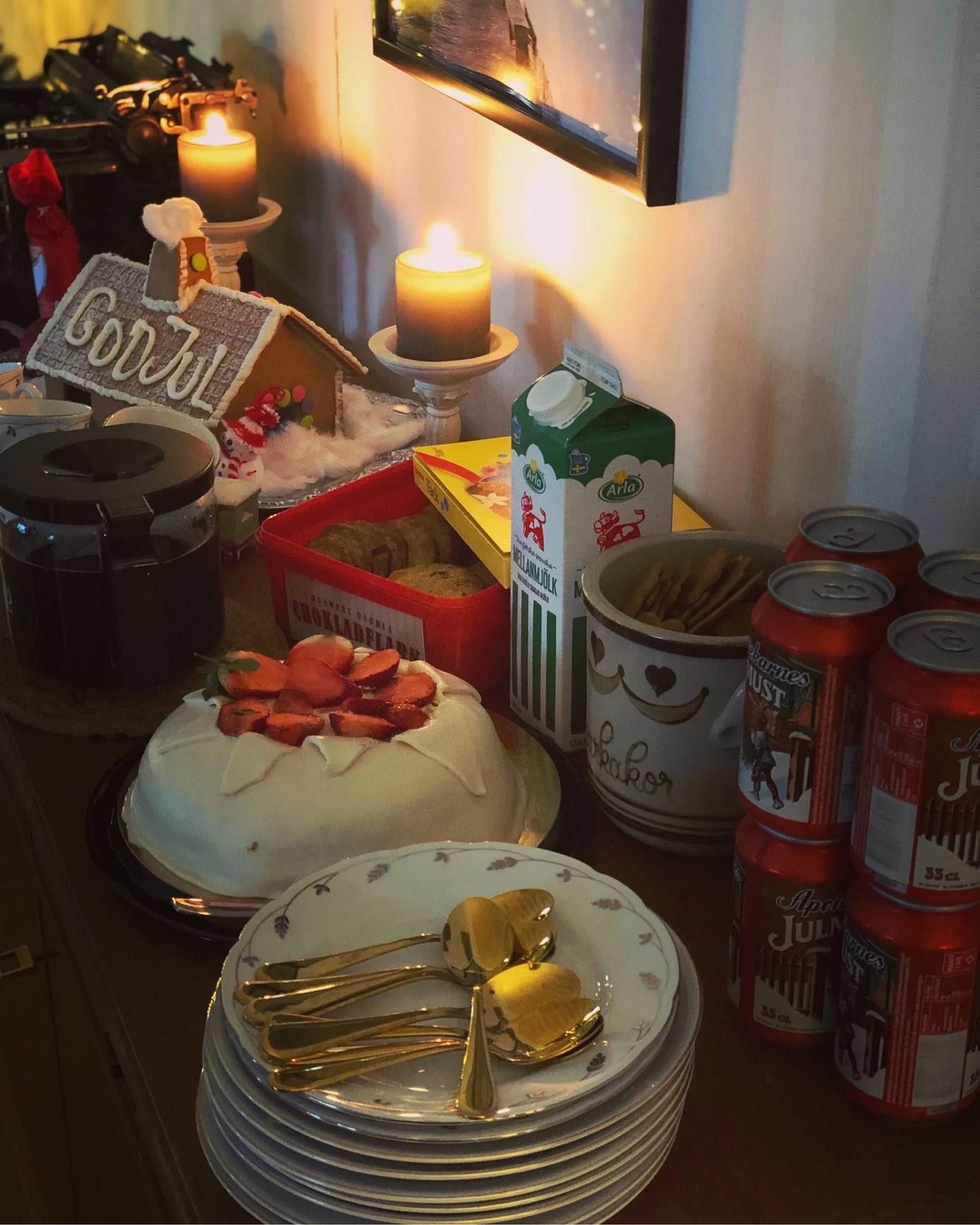 Första julfirandet