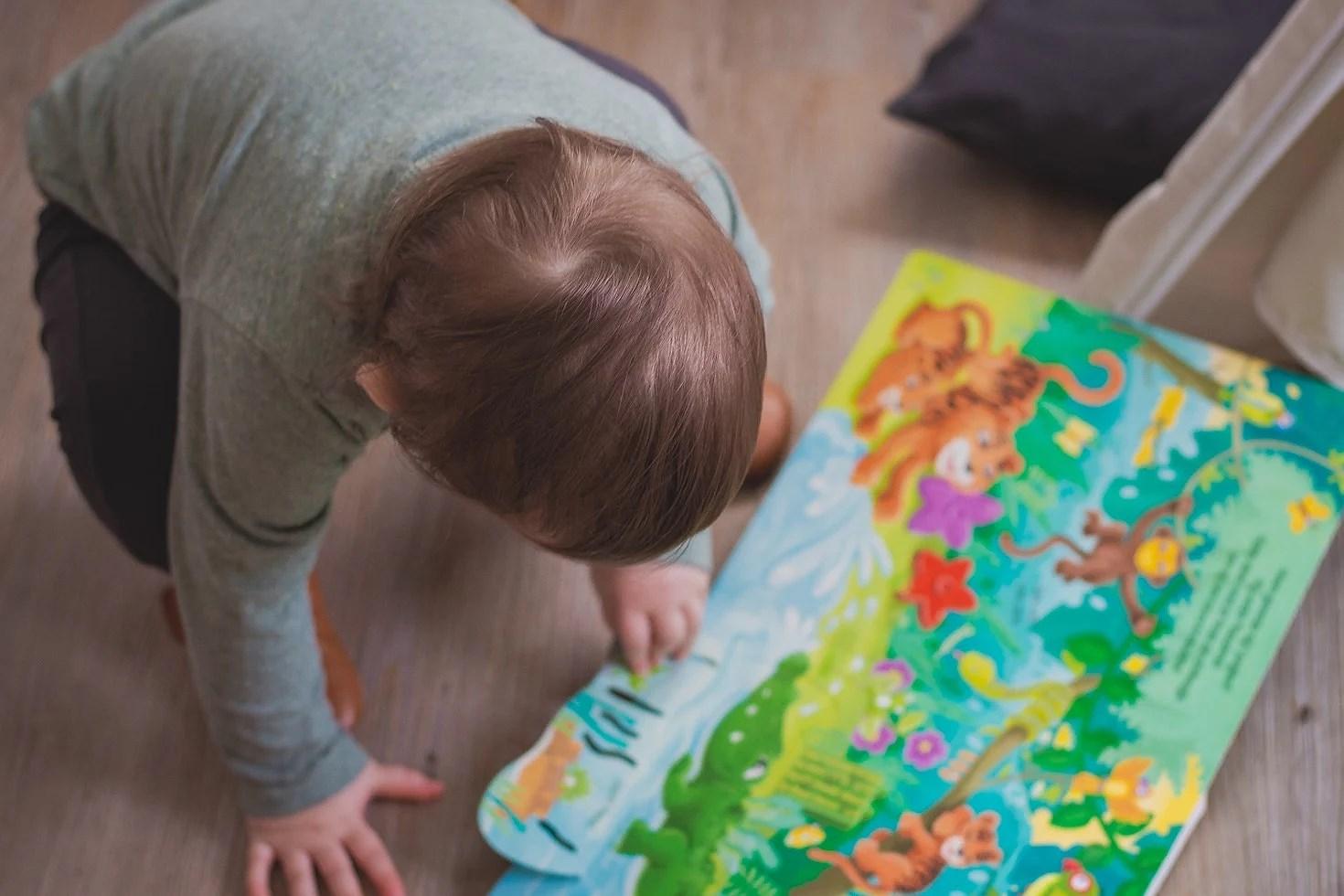 Hvilke bøger anbefales til børn under 2 år?