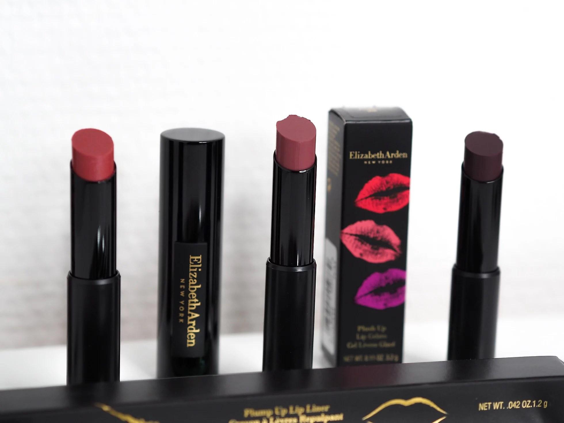 LUKE 9: Elizabeth Arden 3 lipstick + 2 lipliners