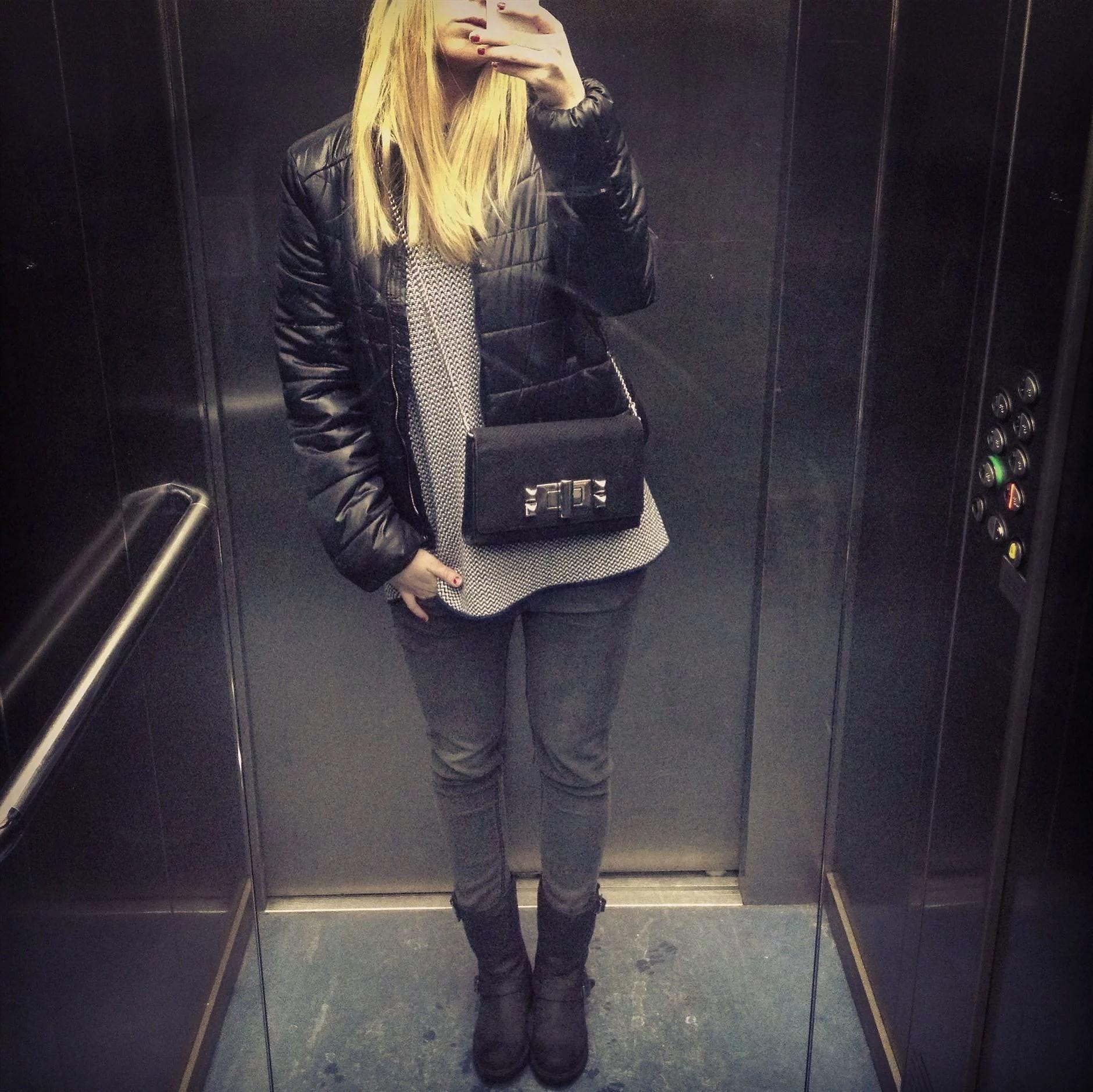 The elevator look