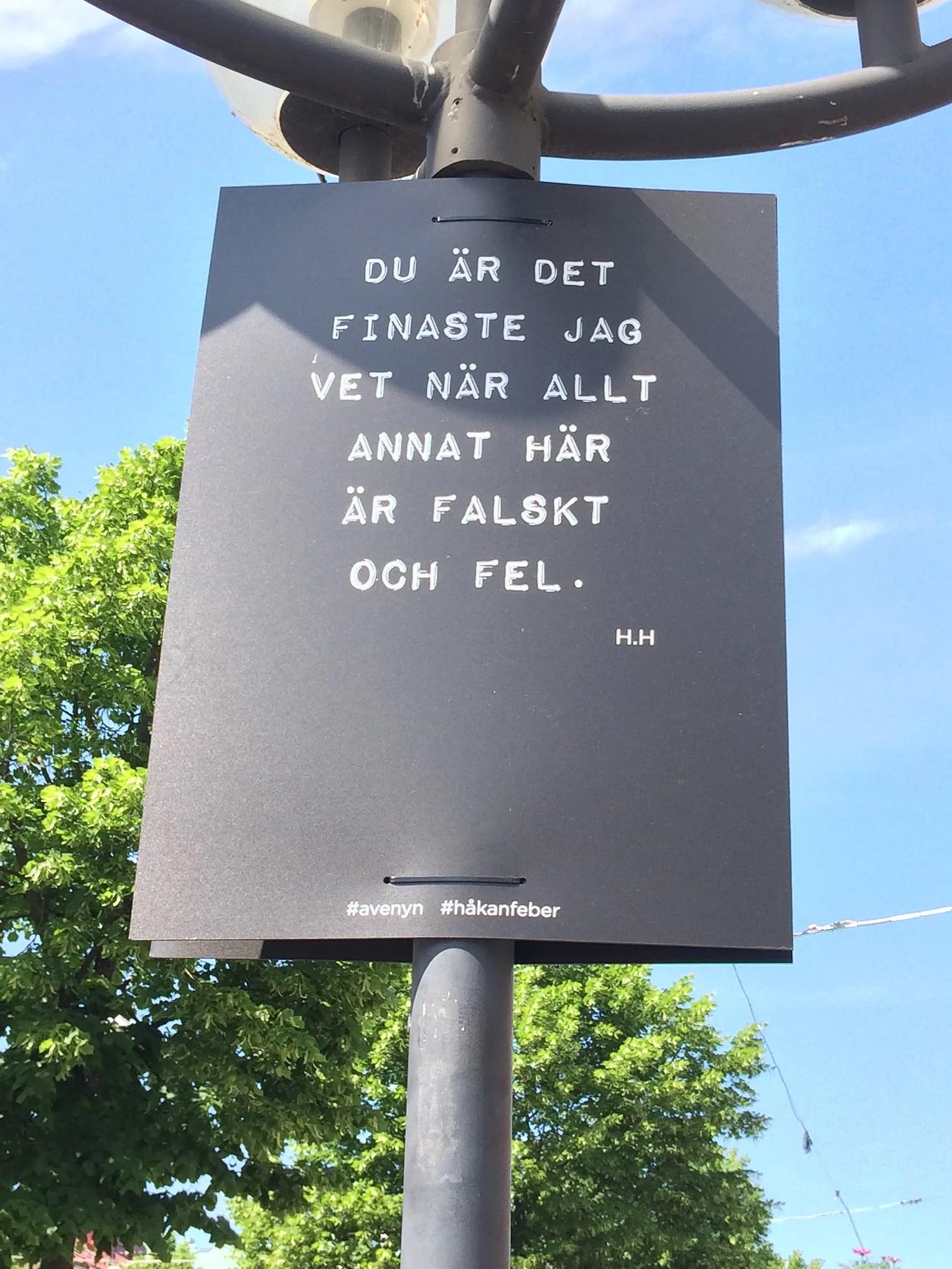 Håkan, fantastiska Håkan Hellström!