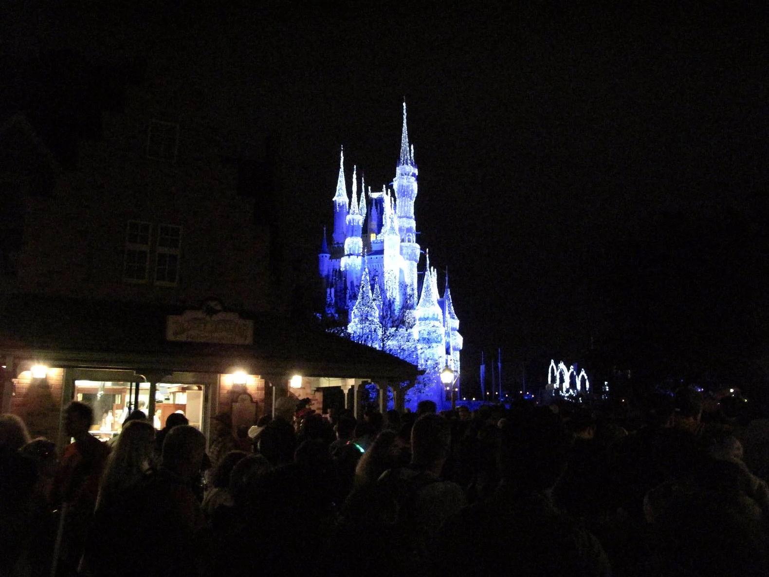 Sista visningen av Wishes på Magic Kingdom