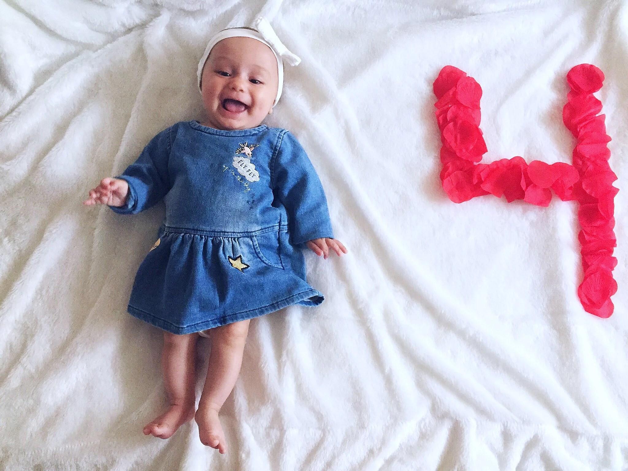 Melody 4 månader