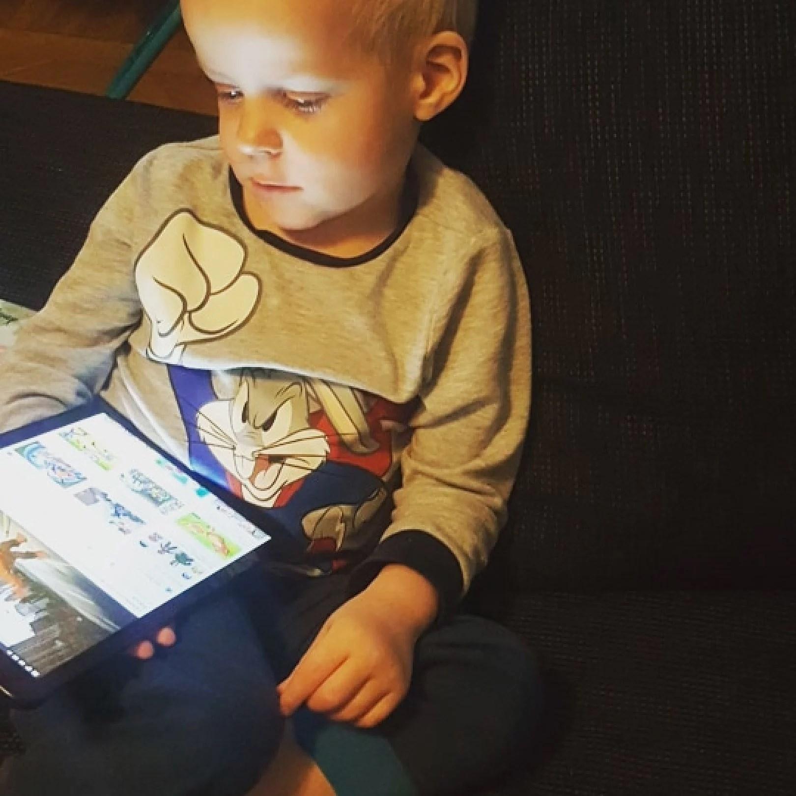 Sjukt barn och förberedelse