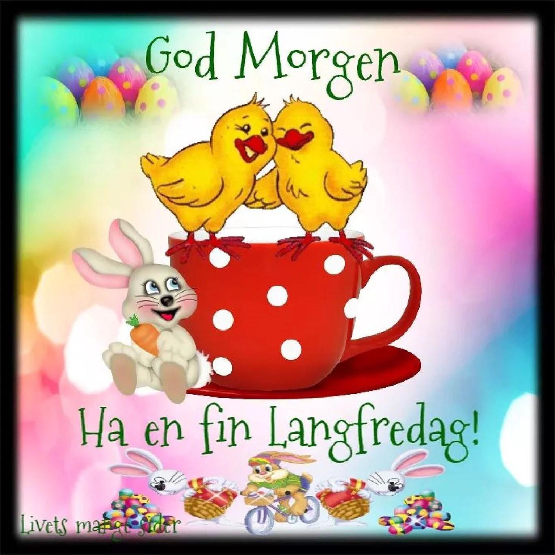 God morgon alla