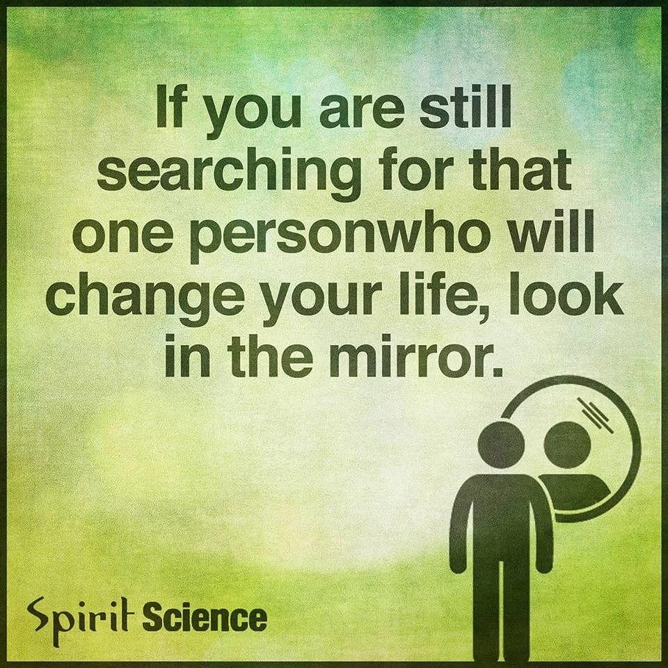 bara önska en förändring fungerar inte....