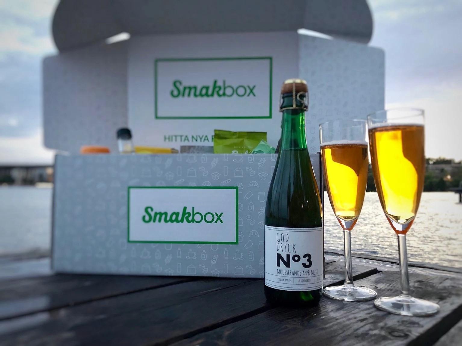 Prova Smakbox smakresa med 20 procent rabatt innan imorgon så får vi bägge en extraprodukt...