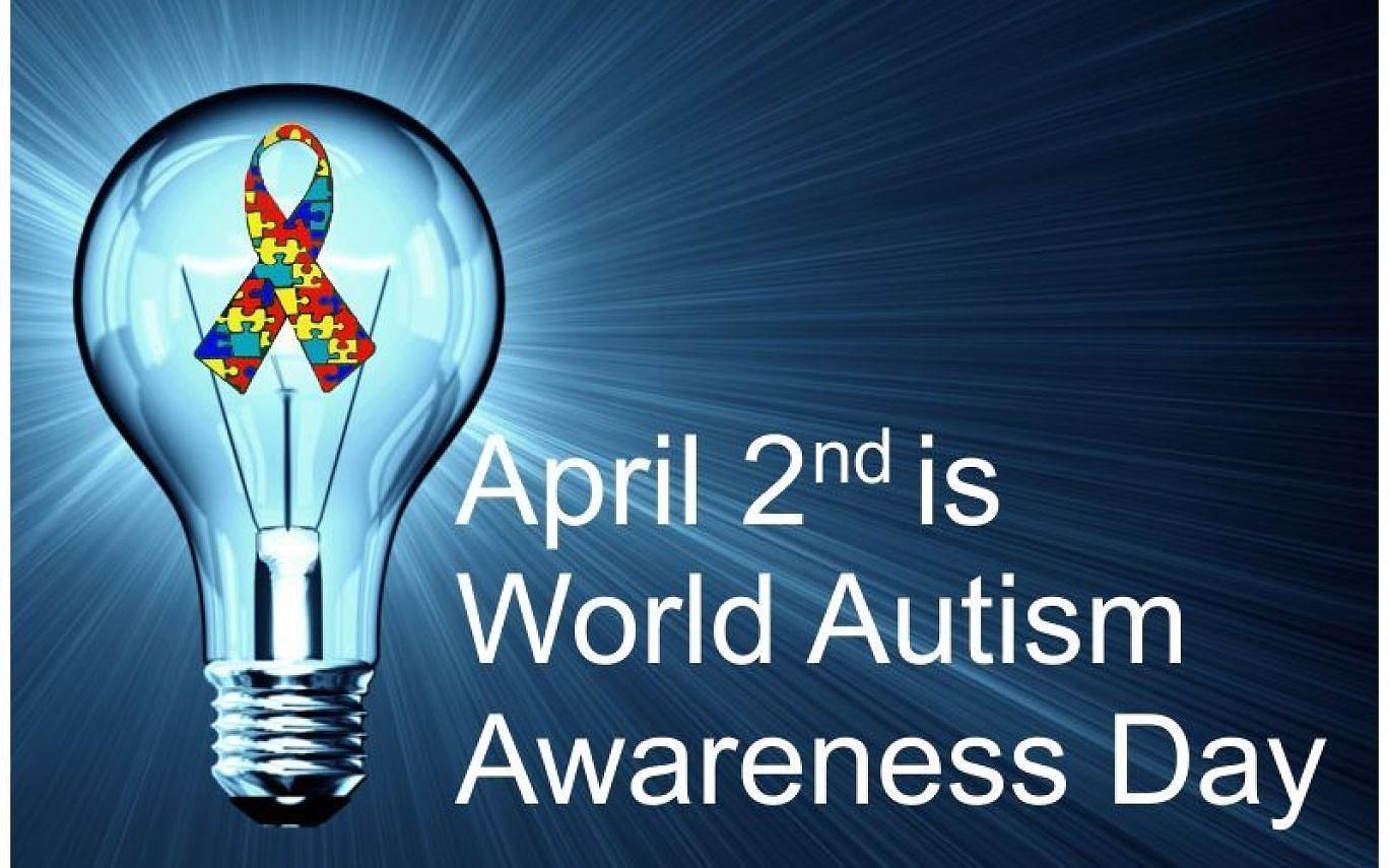 Autism awareness day 2 april, 2019