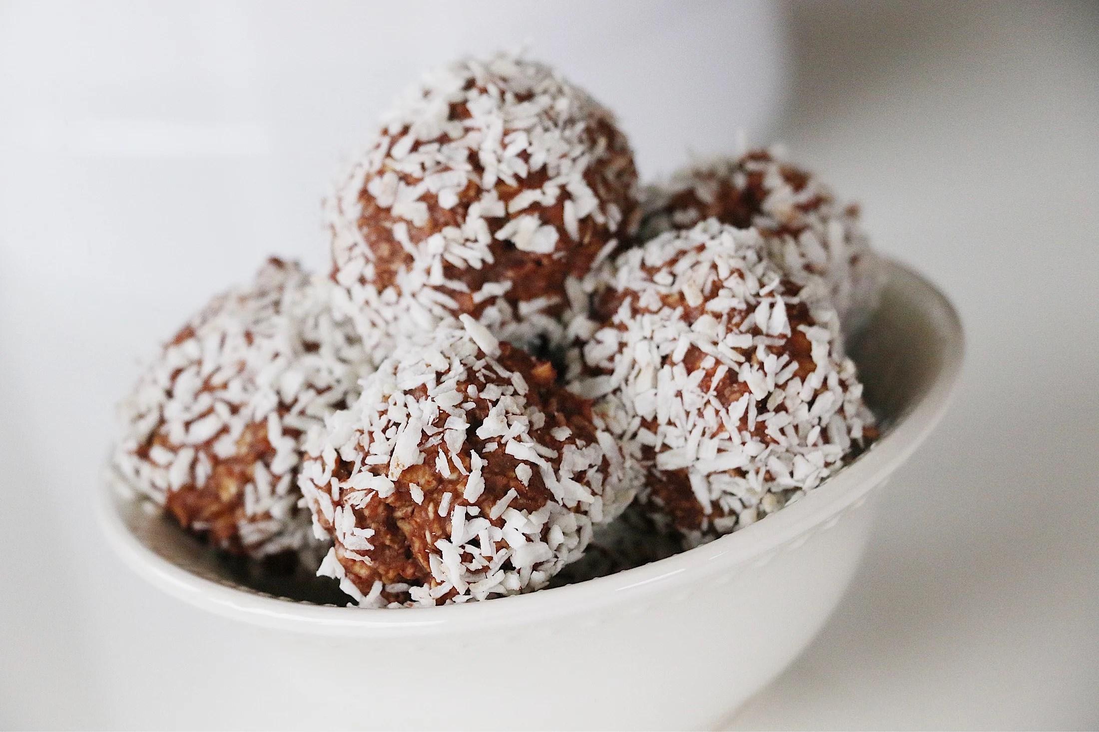Recept: protein chokladbollar