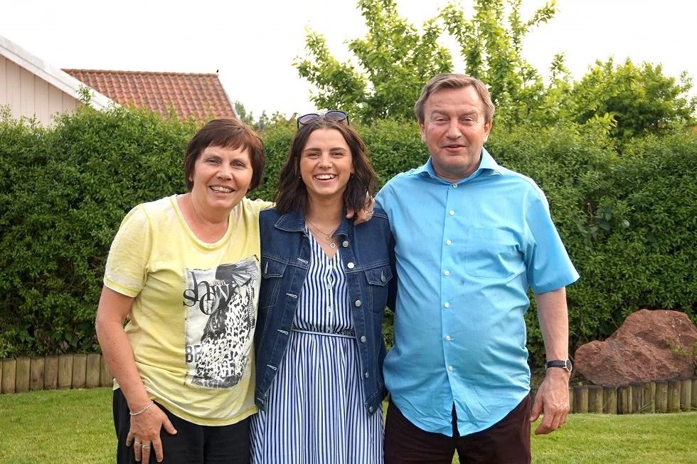 Sol, kage og familie