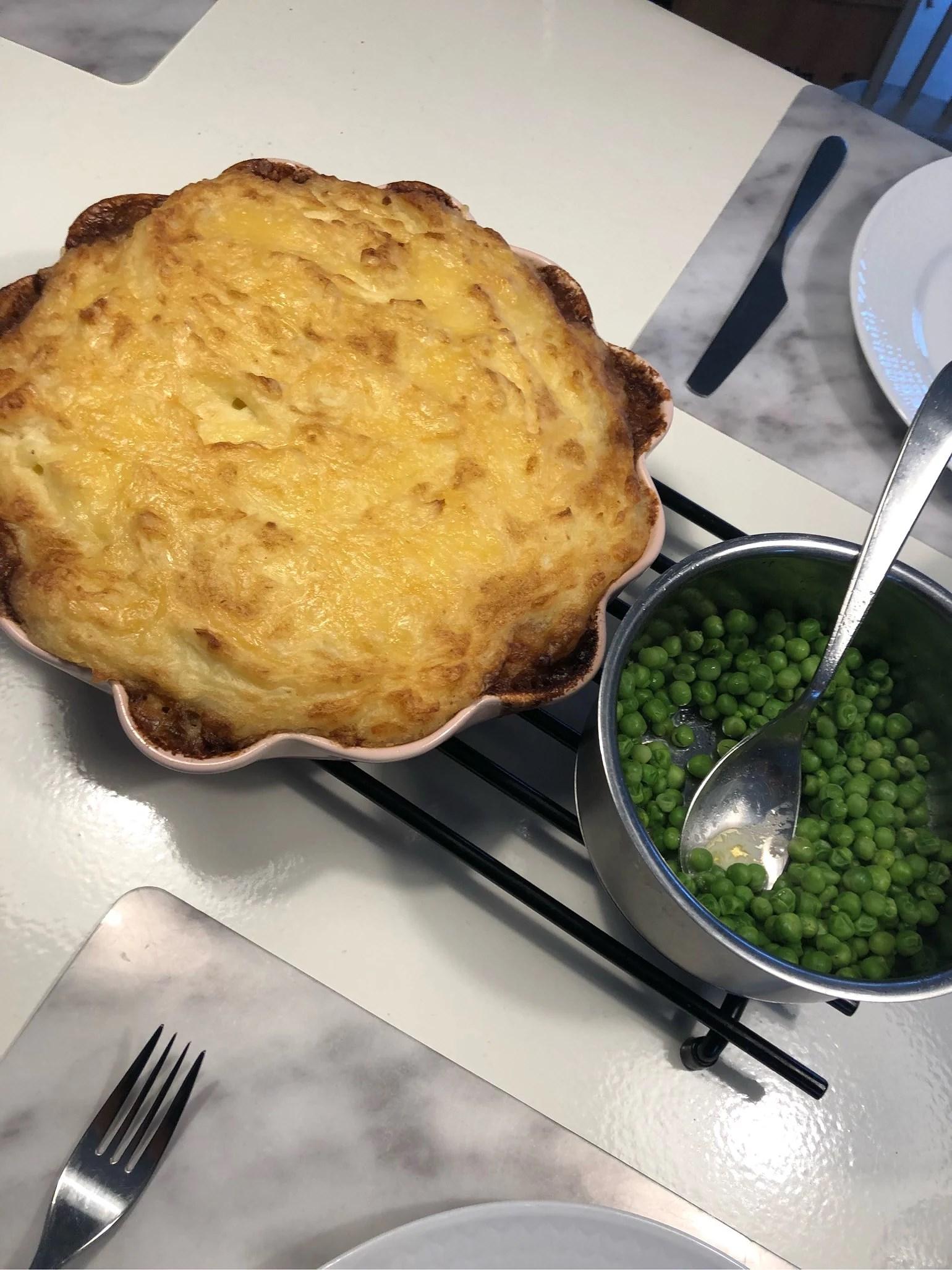 Shepherds pie.