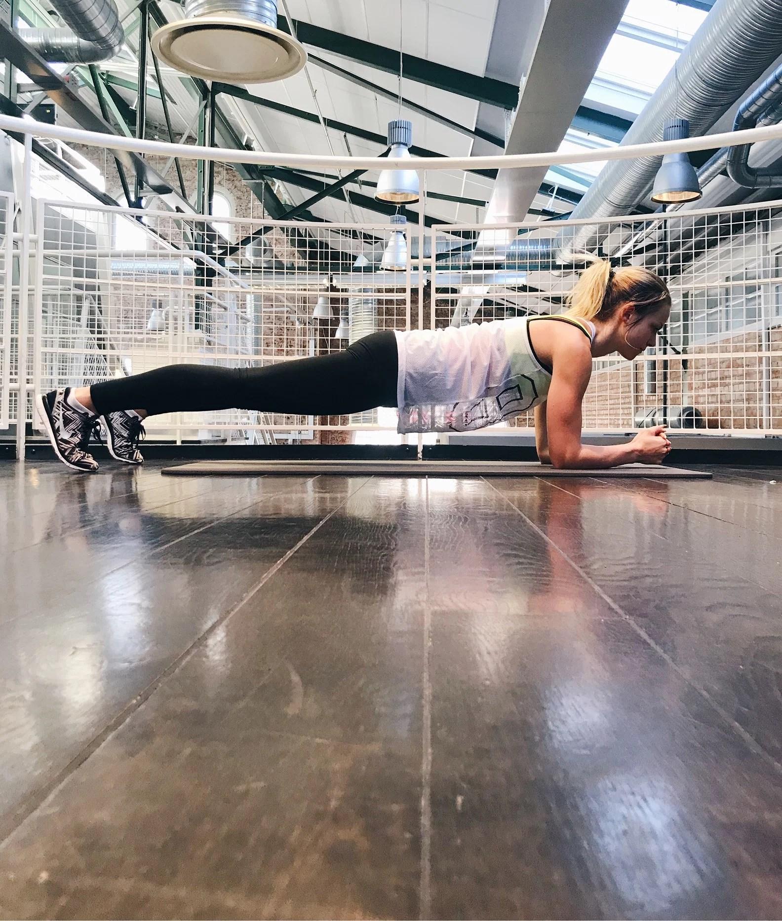 Energifylld och tips på dagens träning