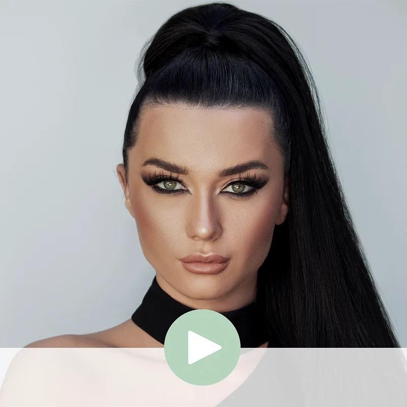 Get the Look: Irina @ Danish Beauty Award 2018 by Nicci Welsh