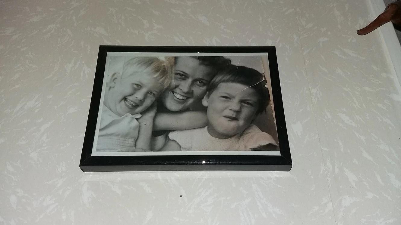 Ett favoritfoto som hänger på min vägg